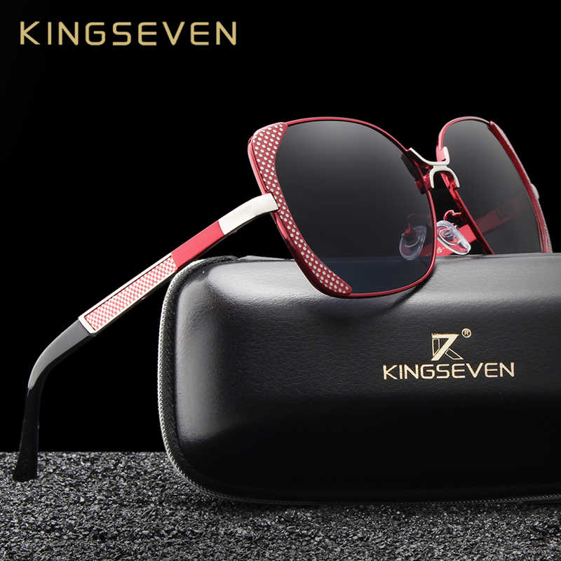 4174340b10a Detail Feedback Questions about KINGSEVEN Brand Design Luxury Polarized  Sunglasses Women Ladies Gradient Butterfly Sun Glasses Female Vintage  oversized ...