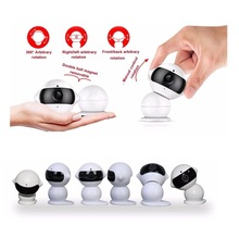 720P IP baby camera video nanny 1.3M pixels camera IR Night vision 2 way talk 360 Rotation wifi radio babysitter fetal Max 64G