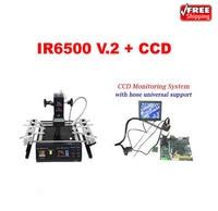 LY IR6500 V 2 Infrared BGA Rework Station Bigger Preheat Area Cobra CCD Camera Supervising System