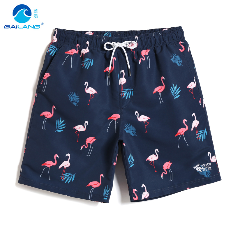 Bathing suit Men's swimming trunks swimsuit hawaiian bermudas printed   board     shorts   liner sport de bain homme beach   shorts   mesh