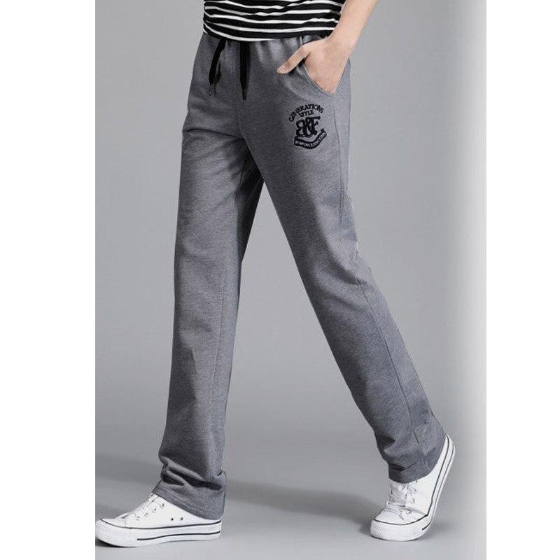 Durable Fashion Pants For Men Joggers Cotton Pants Casual Thin Trousers Men Harem Pencil Pants ...