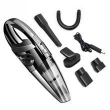 Car Vacuum Cleaner 6KPa Suction Portable Handheld Wet Dry Car Vacuum Cleaner with Stainless Steel Filter 14FT Power Cord DC 12V meidi vacuum cleaner in car wet dry dual use dc 12v give a free spare filter portable car handheld vacuum cleaner 5m power cord