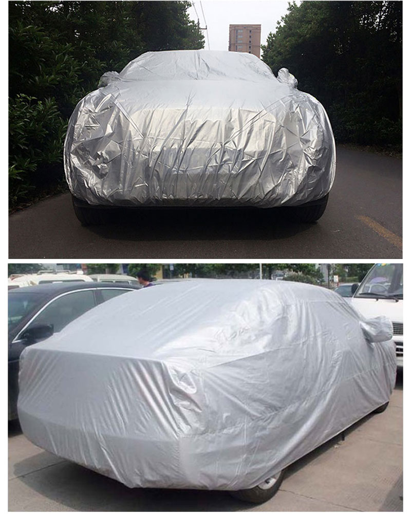 Car Cover Sedan SUV Tent Covers Sun Reflective Shade Rain Frost Snow Dust Waterproof Protection Anti UV Outdoor Car Accessories (8)