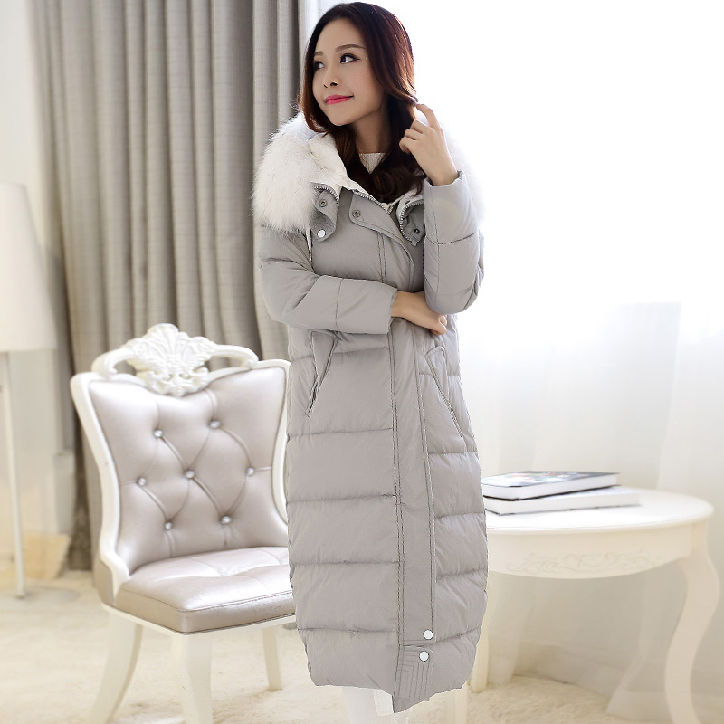 New 2015 Women Fur Hooded Wadded Parkas Fashion Winter Coat Jacket Women Maxi Long Down Winter Coat H5477 ldnio 3u 1 6 м sc3301 сетевой удлинитель black