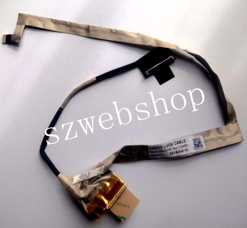 Dell CN-0FNH0H FNH0H 0FNH0H Alienware 17 R1 M17X R5 LCD Screen Cable DC02001O100
