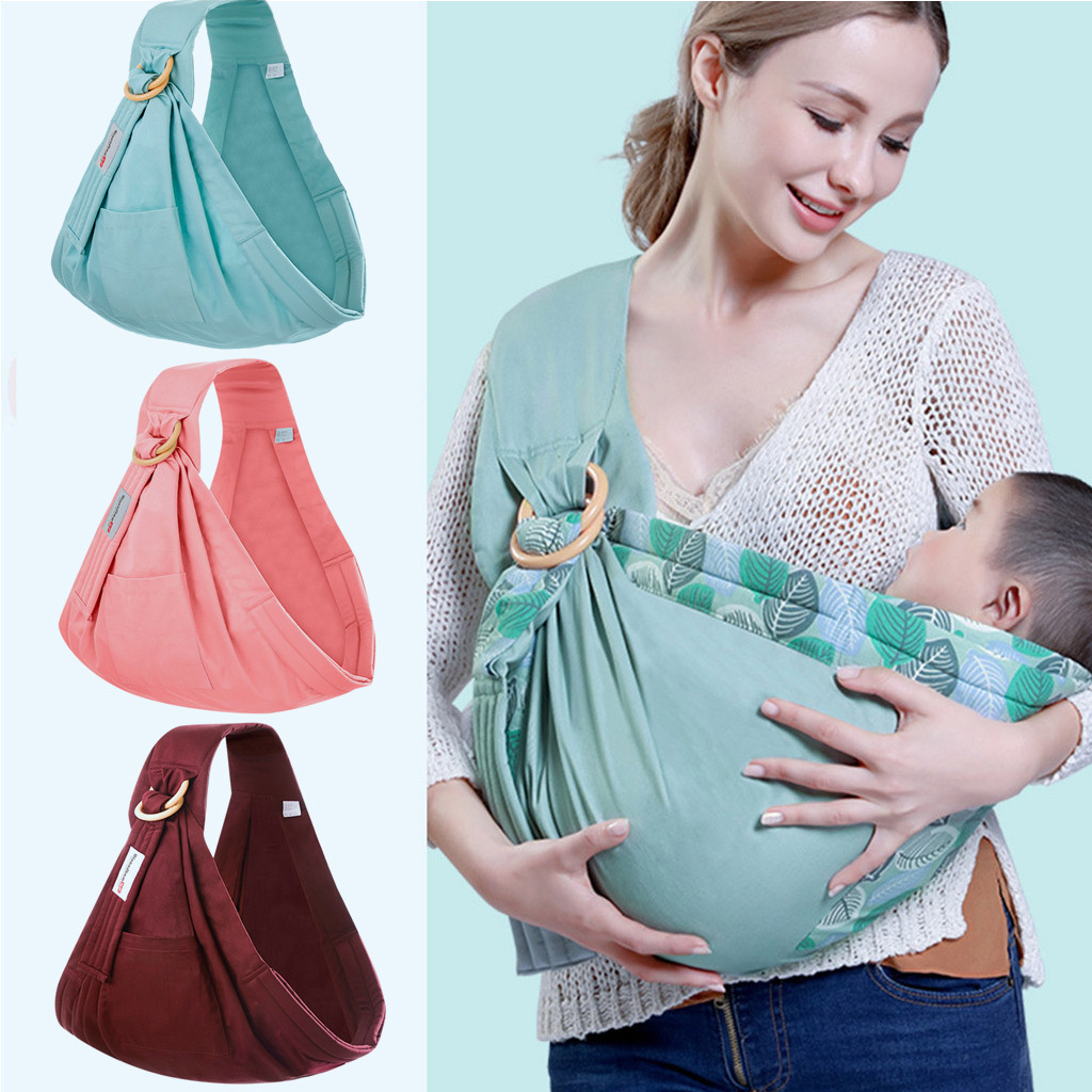 2019 Baby Wrap Babys Scarf Nursing Print CoverMulti-functional Summer Breathable Baby Carrier Belt Kids Infant Hip Seat Sleeping
