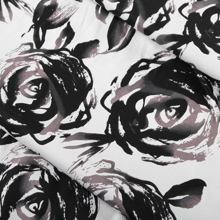 la nouvelle europen et amricain vent bricolage artisanat tissu tissu blanc dencre et roses - Colorant Tissu