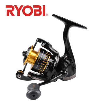 RYOBI ULTRA POWER 500/800/1000 spinning fishing reel 6+1BB Gear Ratio5.2:1 metal spool Stainless steel bearing saltwater fishing