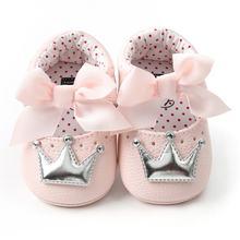 Обувь принцессы для новорожденных девочек; сезон весна осень;