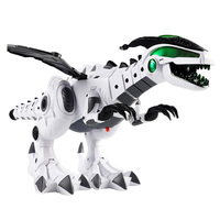 Large Spray Mechanical Dinosaurs With Wing Cartoon Electronic Walking Animal Model Robot Pterosaurs Toys Best Gift For children
