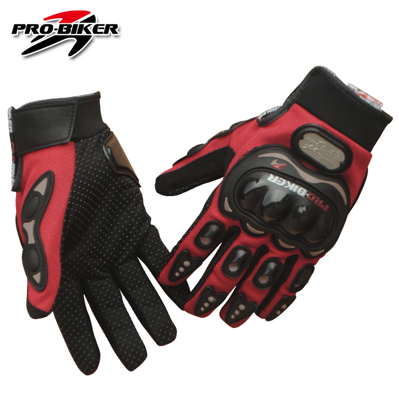 PRO-BIKER Motorcycle Gloves Full Finger Motorcross Dirt Racing Offroad Riding Scooter Guantes Motocicleta Moto Glove MCS-01C