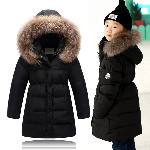 High quality Baby Girls Winter Coats 2015 Kids Jackets For