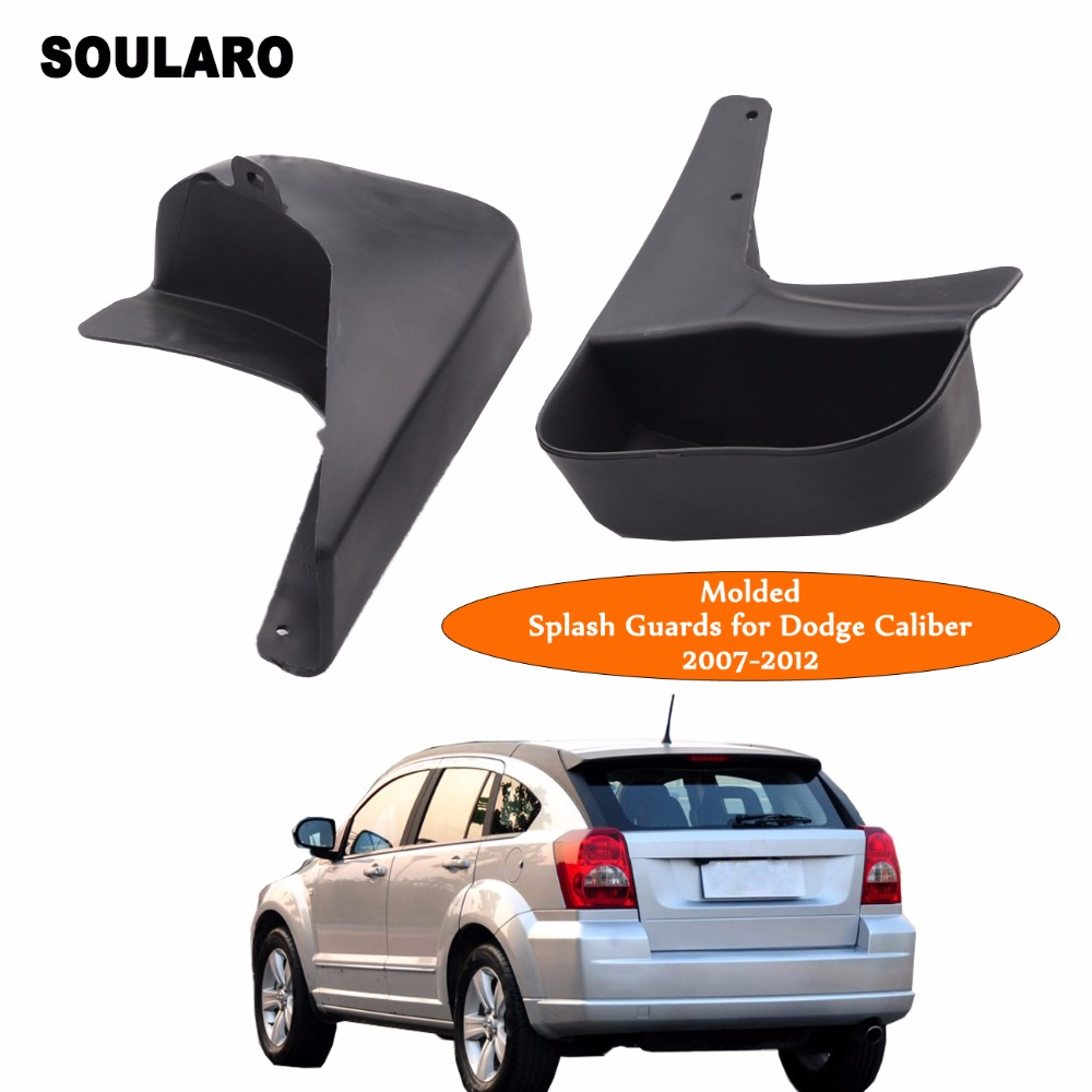 Rear Molded Splash Guards Mud Flaps for Dodge Caliber 2007 2012 Car  Accessories-in Mudguards from Automobiles & Motorcycles on Aliexpress.com |  Alibaba ...