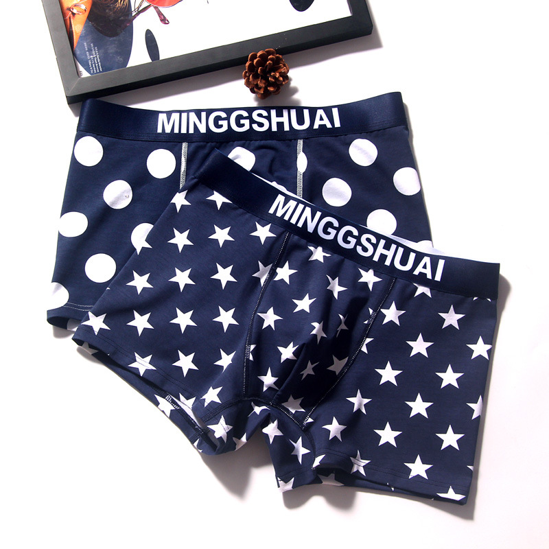 underwear men Fashion influx men's underwear cotton underwear men's boxers cotton boxer men's boxer 2019 The new listing