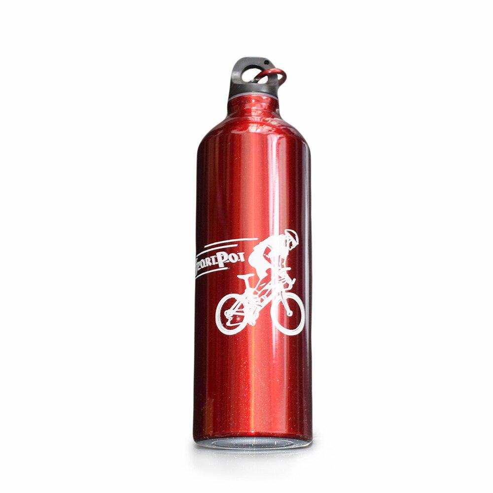 Stylish Newest 750ml Cycling Camping Bicycle bike bottle Sports Aluminum Alloy Water Bottles Christmas Gift