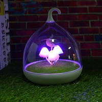 0 5W USB LED Night Light Lamp Colorful Mushroom Portable Touch Sensor Night Lamps For Bedroom