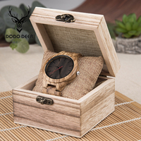 DODO DEER Unique Men Wooden Watches Custom Christmas Gifts Quartz Wristwatch for Men Top Grade Wood Timepieces Male A18 1