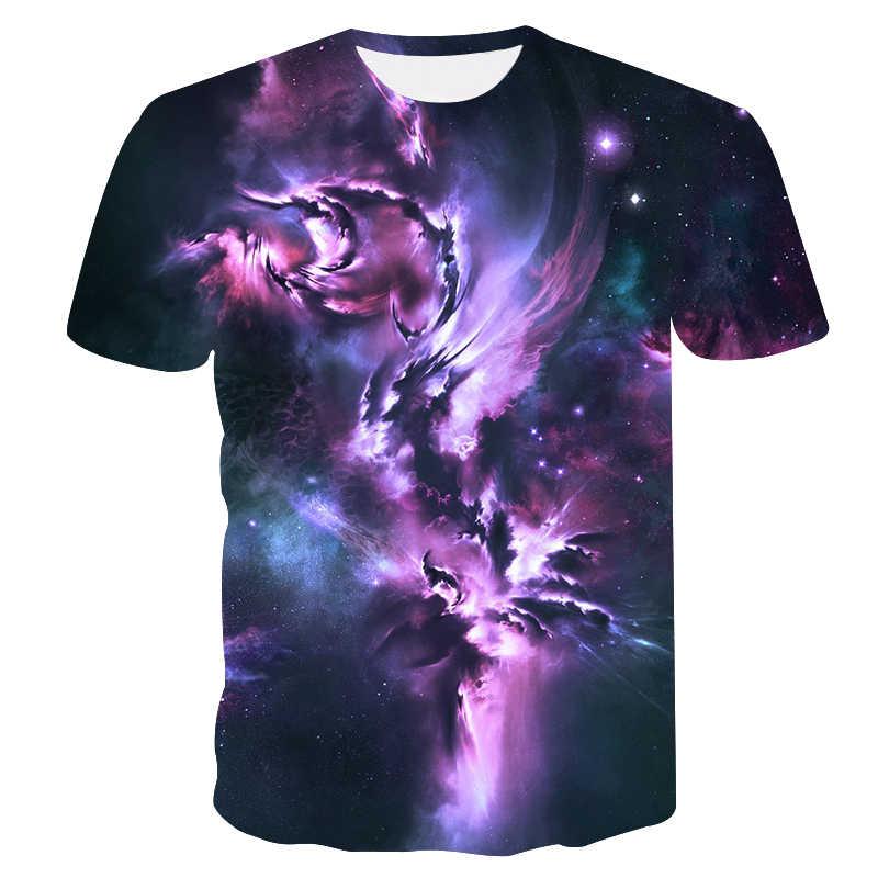 Hombres Camiseta de manga corta 2018 nuevo universo camiseta 3D imprimir  manga corta de verano Top 32041b508cdef