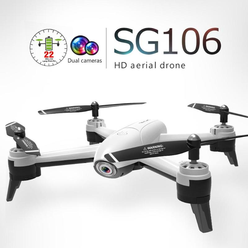 SG106 RC Drone 720P WiFi FPV Camera Auto Return Headless Mode Quadcopter APP control with Remote Control