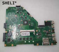 SHELI Für Asus X550EA X550EP Motherboard mit A4-5000 CPU 60NB03R0-MB3000