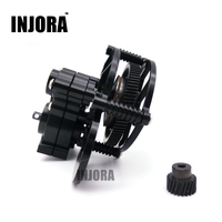 1 10 RC Crawler SCX10 Black All Metal Transmission Center Gearbox For Axial SCX10 Gear Box