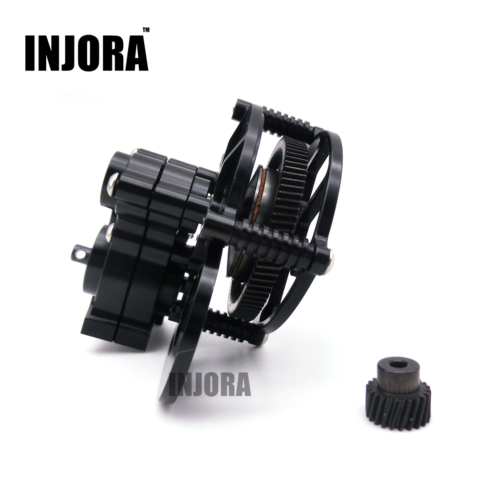 1:10 RC Crawler SCX10 Black All Metal Transmission / Center Gearbox for Axial SCX10 Gear Box Parts truck transmission parts gearbox speed sensor wg2209280010 for sinotruck howo