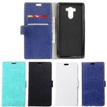 Uftemr Case Pour Xiaomi Redmi 4 Pro Portefeuille Crocodile Peau PU en cuir de Couverture Arrière de Silicone Téléphone Case Pour Redmi 4 Premier Carte Slot