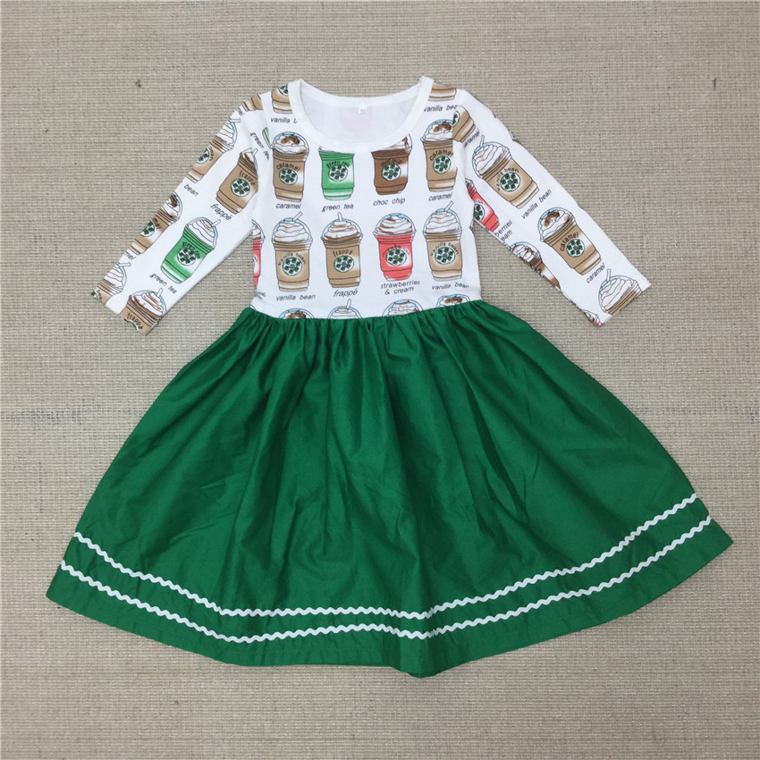 Seartist 2019 New Baby Girls Dress Girl Spring Long Sleeved Princess Birthday Casual Dresses Baby Girl Clothes Dropshipping 30 in Dresses from Mother Kids