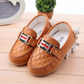 2017 spring1-6 year kids boys British casual leather shoes children boat shoes anti-skid tendon for baby shoes 8 Colour 21-30