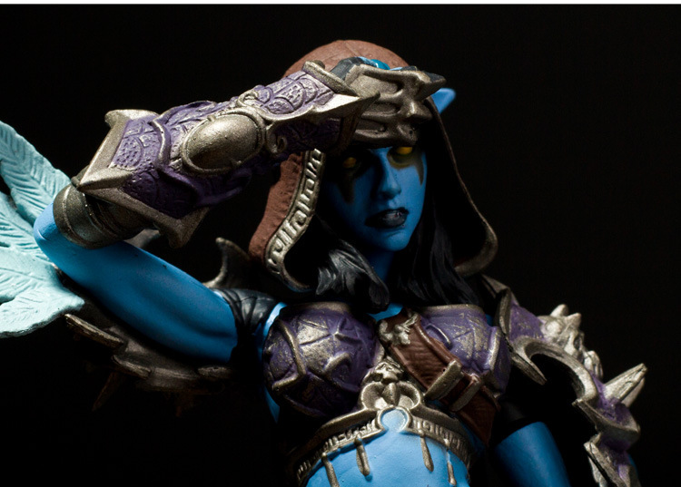NEW in stock Forsaken Queen Sylvanas Windrunner Action Figure wow DC6 Collectible Toy 4