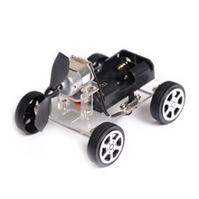 OOTDTY 130 Brush Motor Mini Wind Educational Toy DIY Car Motor Robot Kits for Arduino(China)