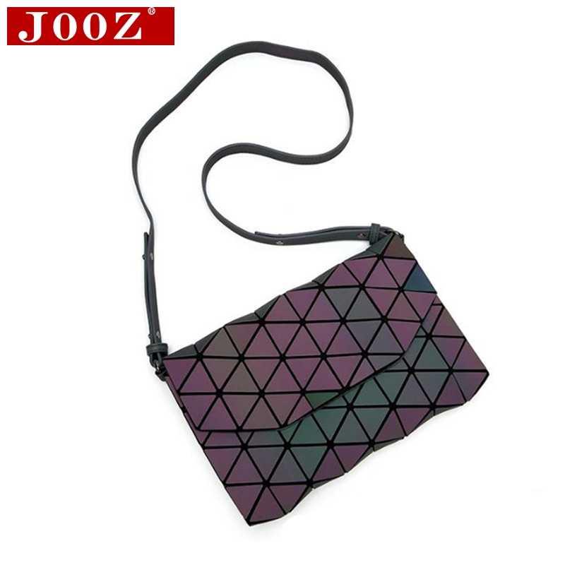 75ec9ec4948 ... JOOZ Laser Geometric Luminous Women Handbags Flap Crossbody Bag For  Women 2018 Purse Clutch Designer Brand ...