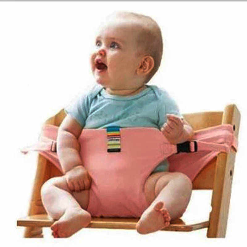 Детский стул ремень безопасности детское портативное сиденье Моющиеся Путешествия складной обертывание кормления Кресло со страховочными ремнями жгут детские автокресла