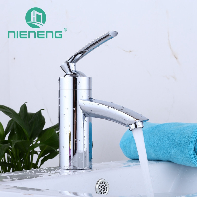 Здесь продается  Nieneng Bathroom Faucet Bath Basin Mixer Tap Bathroom Products With Hot And Cold Water Copper Sink Faucets Accessories ICD60329  Строительство и Недвижимость