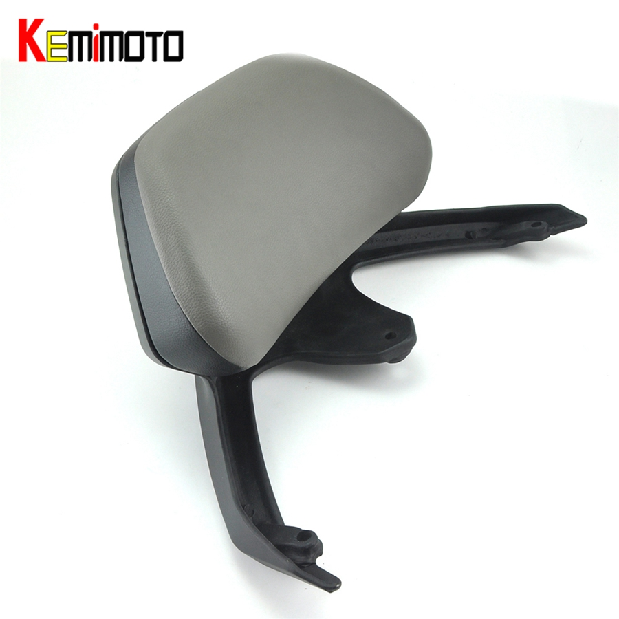 KEMiMOTO Motorcycle Accessories Backrest For YAMAHA T-MAX TMAX 530 2012 2015 T MAX 530 Passenger Backrest Stay 2012-2016 hot sales best price for yamaha tmax 530 2013 2014 t max 530 13 14 tmax530 movistar abs motorcycle fairing injection molding