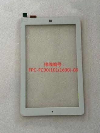 New original fpc-fc90j101 (i890)-00 tela de toque capacitivo tablet frete grátis
