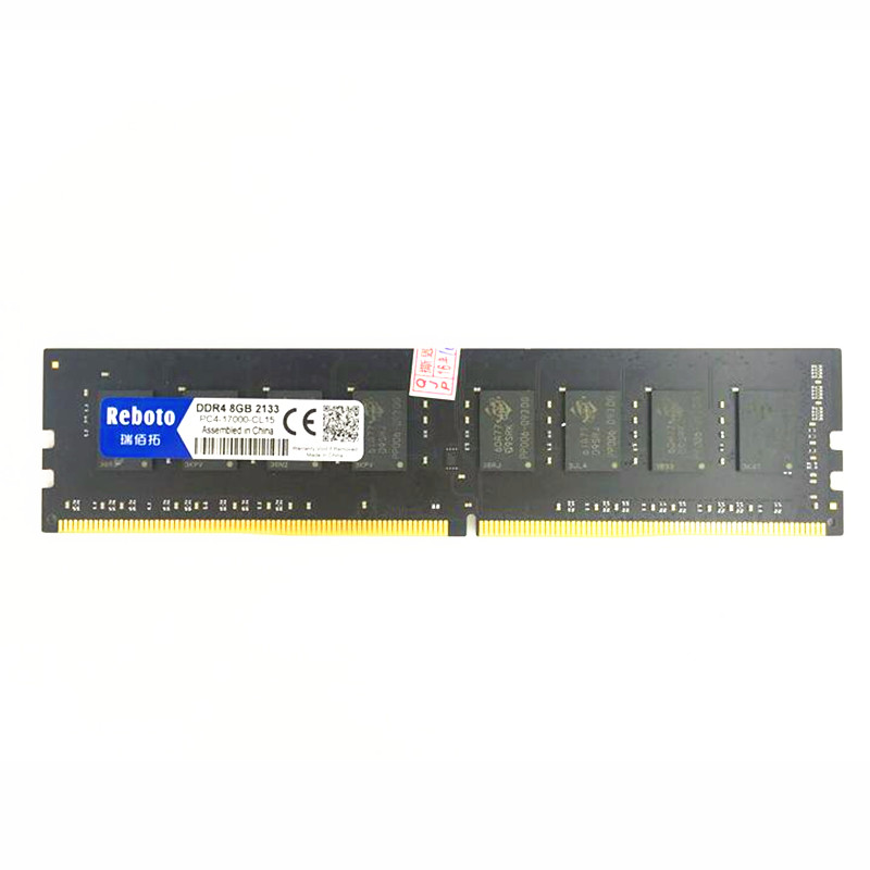 ФОТО Reboto  ddr4 8GB 2133P 2400P memory compatible all Intel AMD Desktop ram PC4 284pin dimm Free Shipping