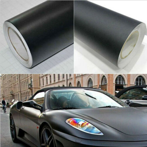 Premium Matte Vinyl Car Wraps Auto Satin Matt Black Foil Car Wrap Film
