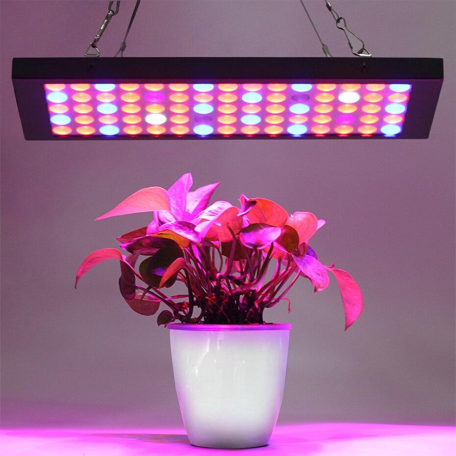LED grandir lumière plein spectre fitolampy panneau en aluminium 15 w IR UV intérieur plante lampe floraison hydroponique système jardin AC85-265V