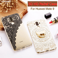 Vpower case 3d para huawei mate 9 cartoon pintado teléfono suave cubierta protectora tpu case para huawei mate 9 cubierta