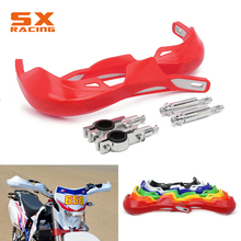 цена на 22MM 28MM Motocross Handlebar Handle bar Guards Protection For HONDA CR125 CR250 CRF250 CRF450 CRF230 XR250 CR CRF XR