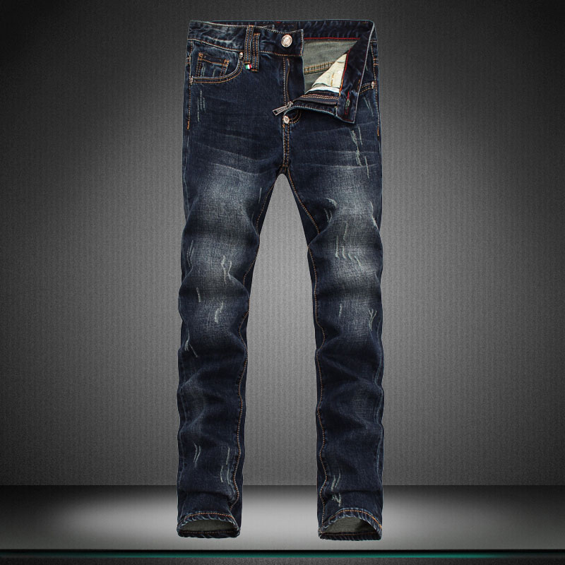 cat must be personality man Jeans men Casual pants new brand pants straight trousers designer boy