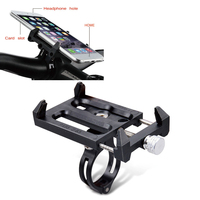 Bicycle Bike Phone Holder Anti Skid 360 Rotating Cell Phone Mount For Most Sizes Phone