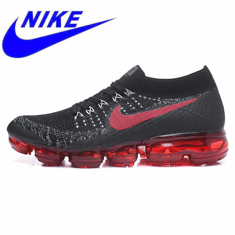 09e4482f3be15 Breathable Non-Slip Nike Air Vapormax Flyknit Men s Running Shoes