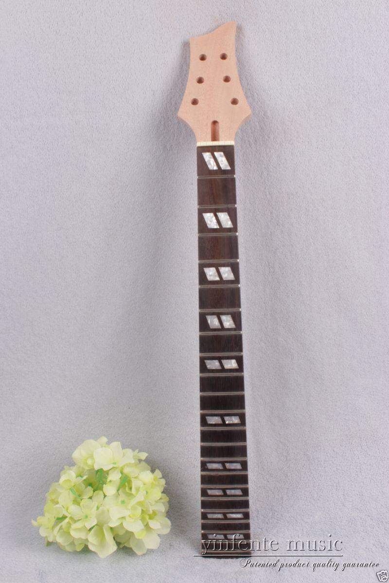 New electric guitar neck solid wood 22 fret 24.75'' rose wood Truss Rod #732 high quality electric guitar neck truss rod adjustmrnt 440mm guitar parts wholesale