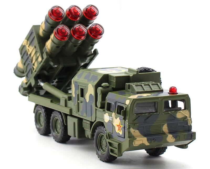 1Pcs Military toys Missile Truck Radar cars Pull-back vehicle Alloy Toy Classic Toys For Children Boys Gift military modern wars diecast boeing ah 64 apache helicopter gunships can shoot alloy pull back toy with light