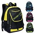 Новые поступления 2016 Случайные Дышащие Водонепроницаемые мешки школы для мальчиков ортопедические рюкзак 4 Цвета рюкзак школьный