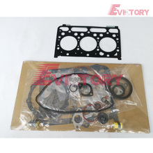 D1503 pièces de moteur Kubota D1503 joint de culasse complet palier de piston