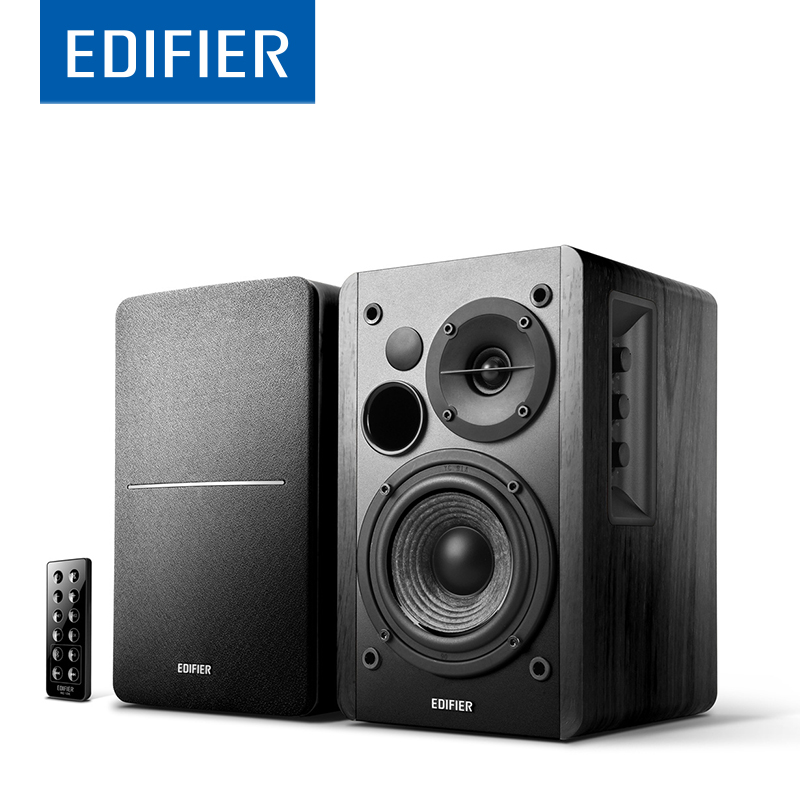 EDIFIER R1280DB Bluetooth Speaker Bookshelf Powerful Bass Speaker Supports Remote Control Bluetooth Optical Coaxial Dual RCA