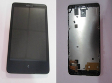 no logo For Nokia X A110 RM 980 RM980 LCD Display Touch Screen Digitizer Assembly with Frame free tools
